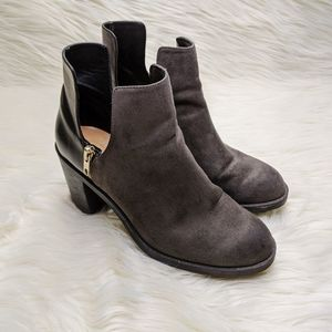 Zara Trafaluc Cut Out Ankle Booties Size 39